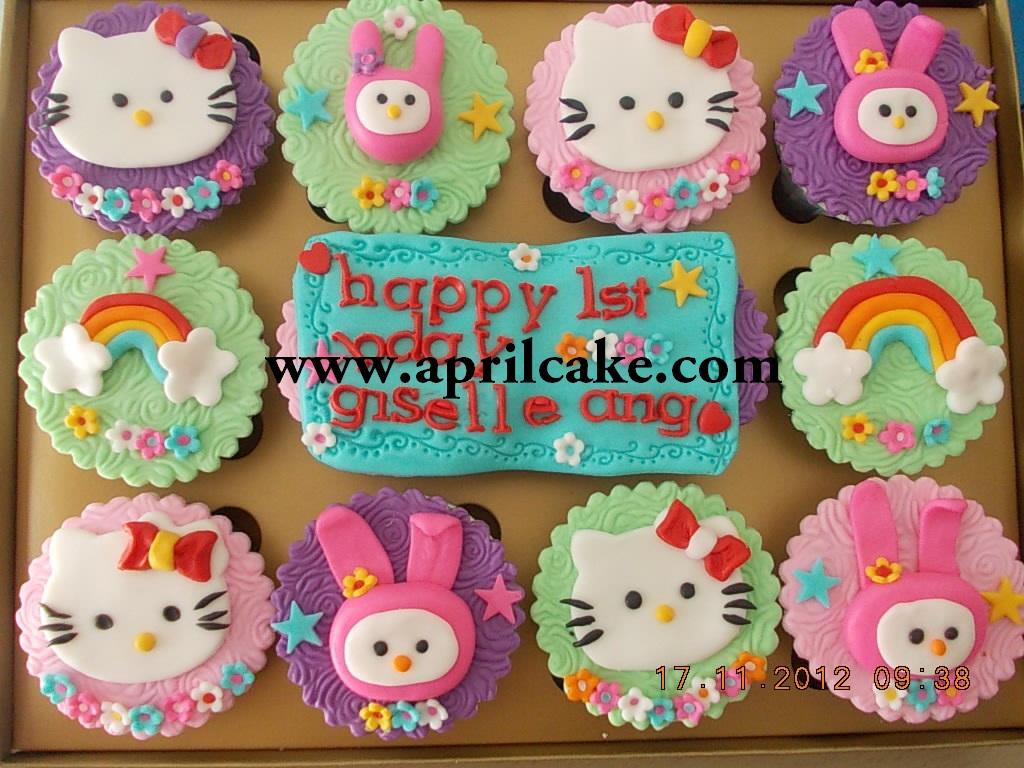 Hello Kitty Cupcake Nani – April Cake
