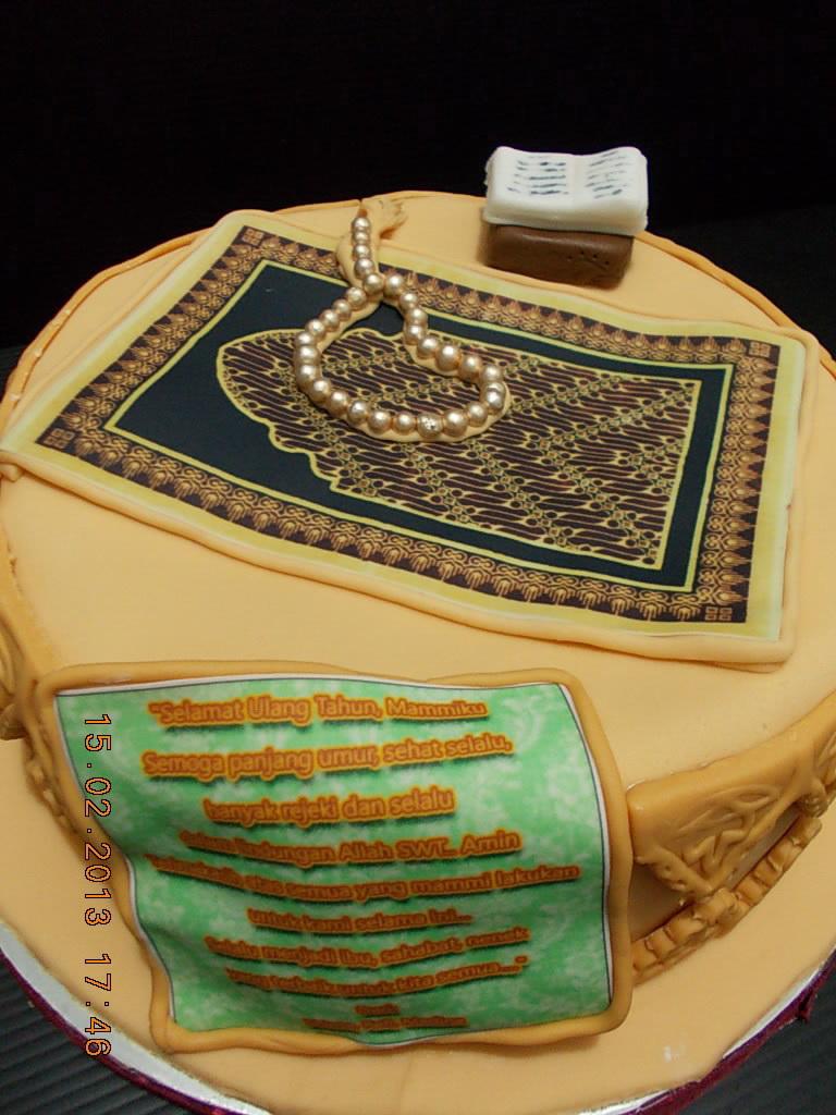 Sajadah cake Shinta