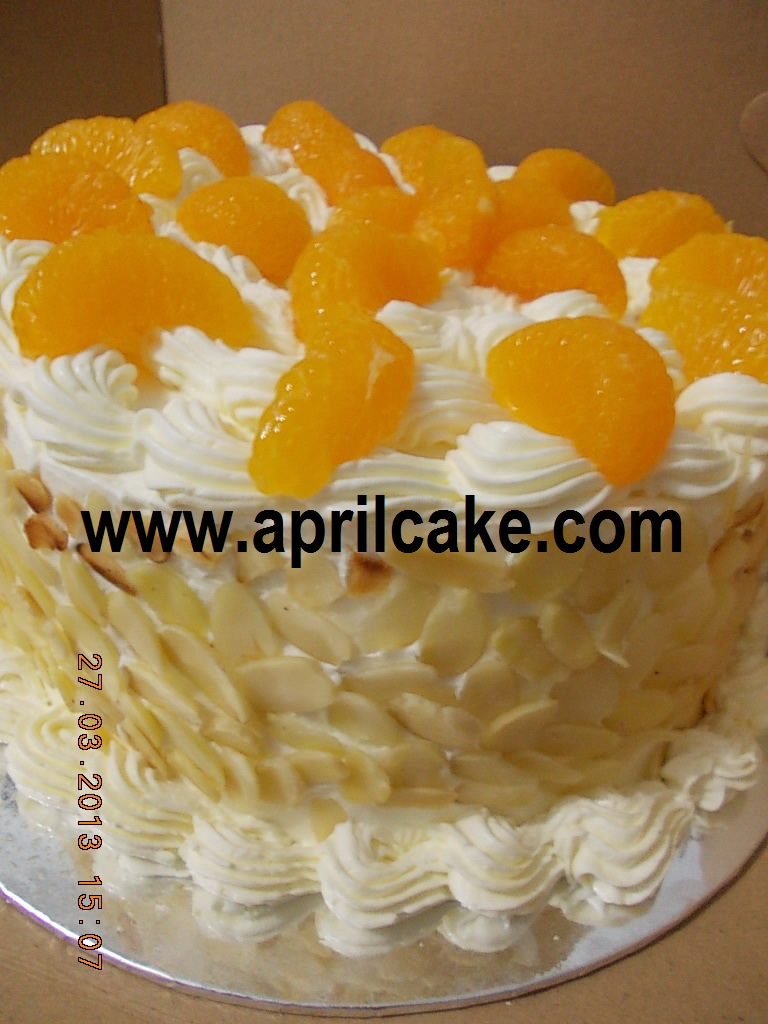 Orange Cheesy Cake Brenda