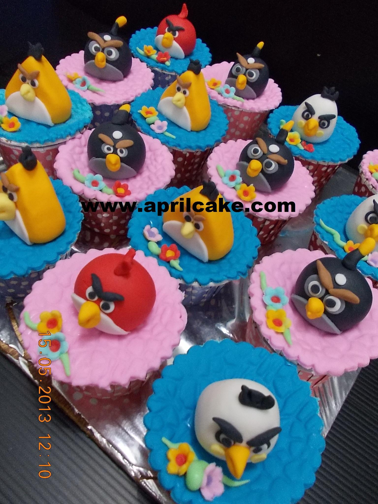 Angry Birds Cupcake Eka