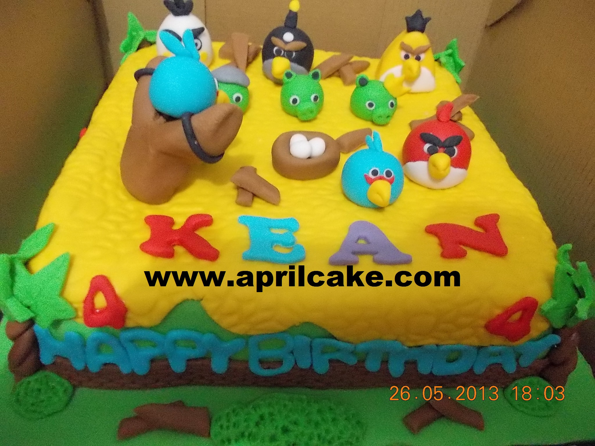 Angry Birds Kean