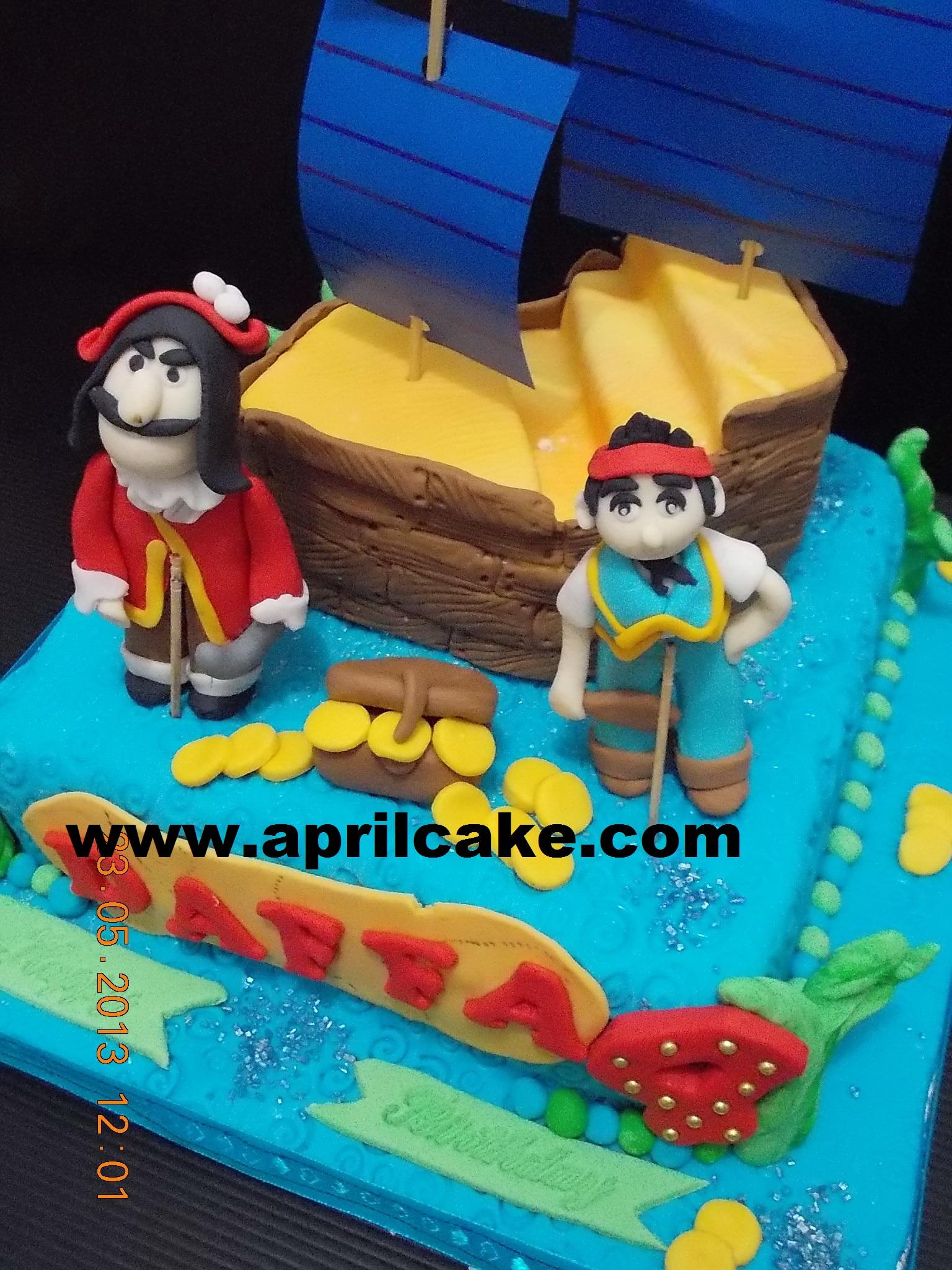 Jake and Neverland cake Daffa