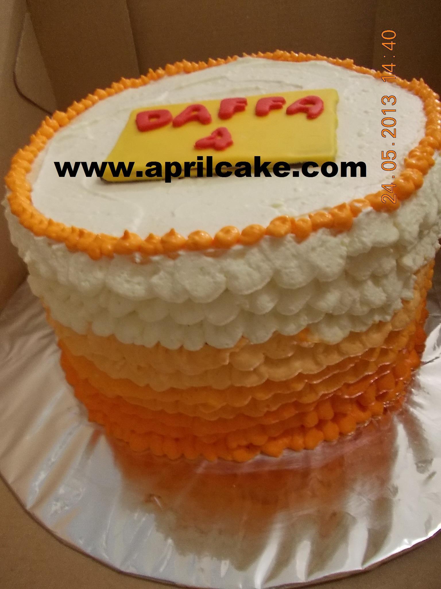 Ombre Cake Daffa