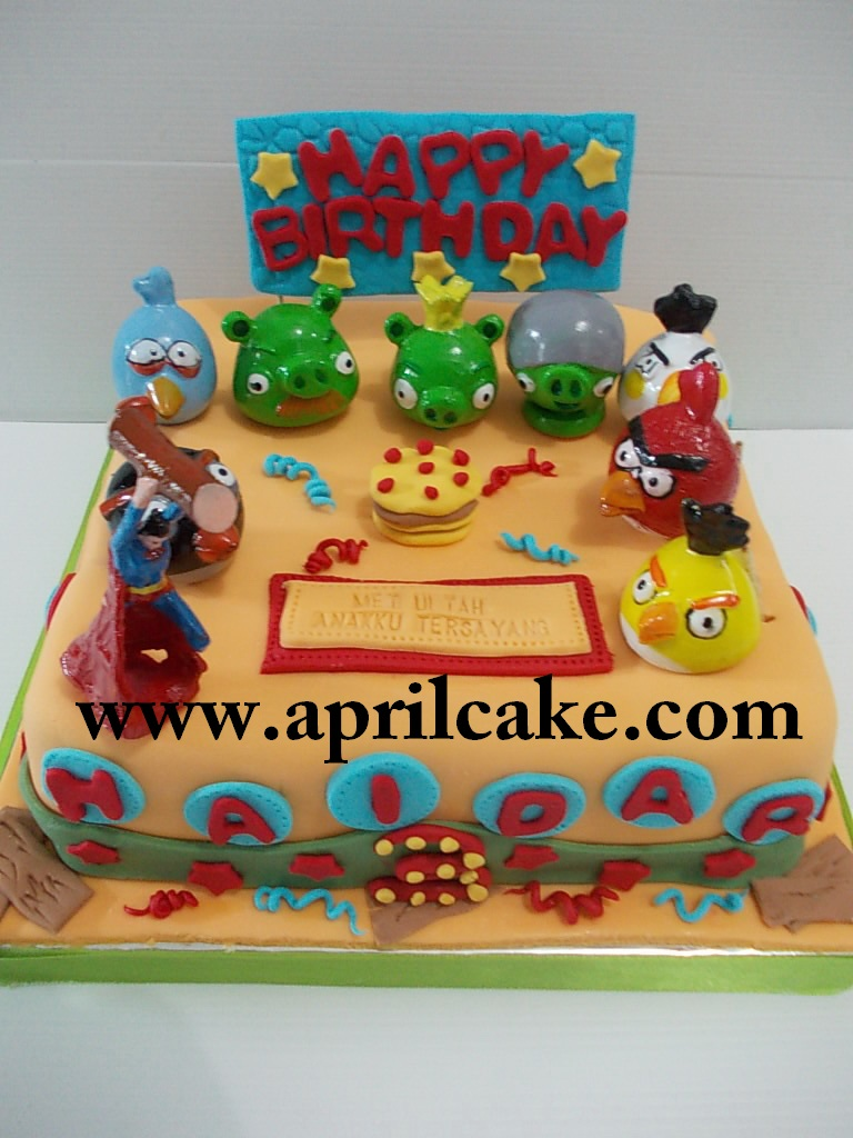 Angry Birds cake Haidar