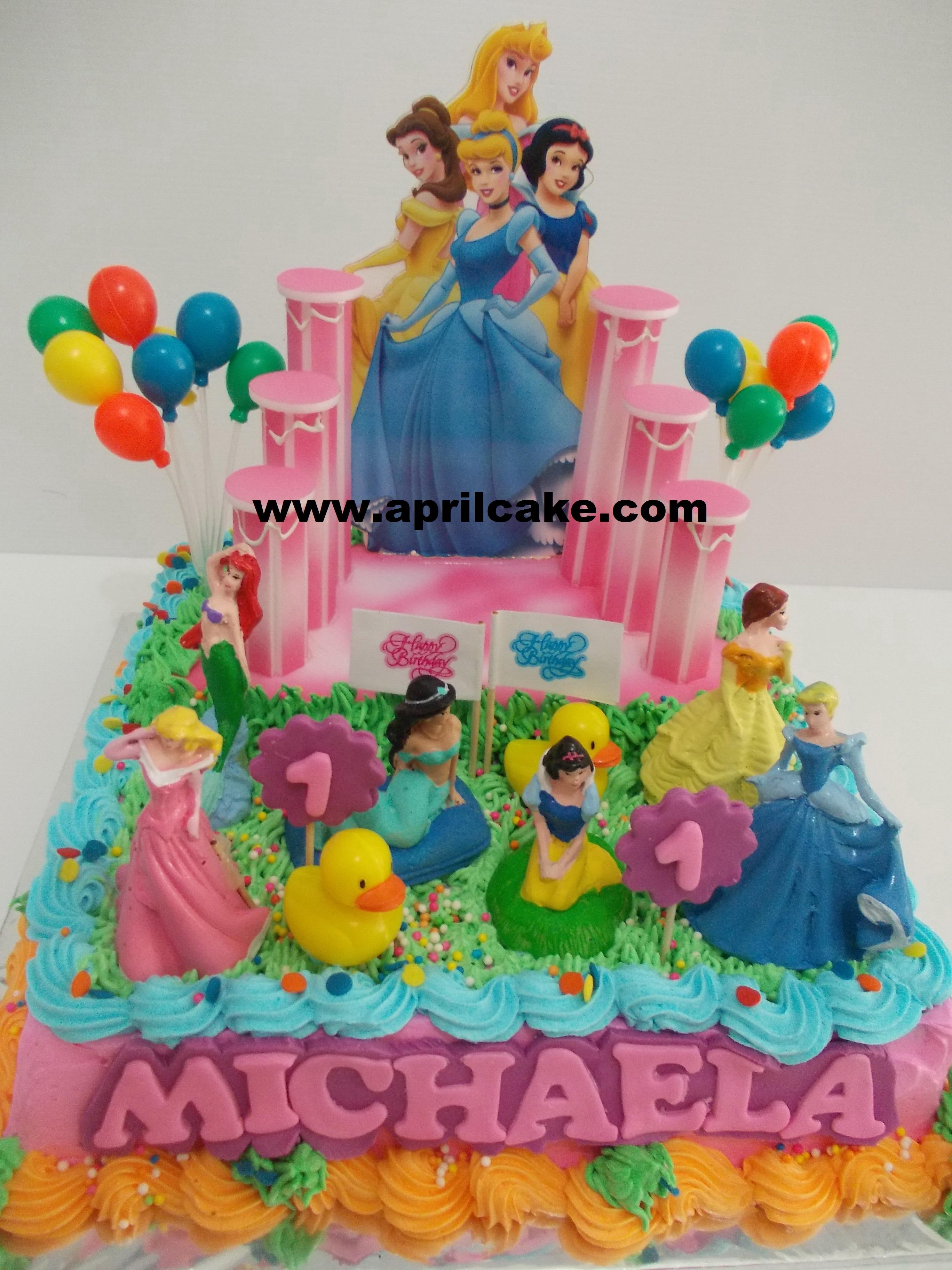 Princess buttercream Michaela