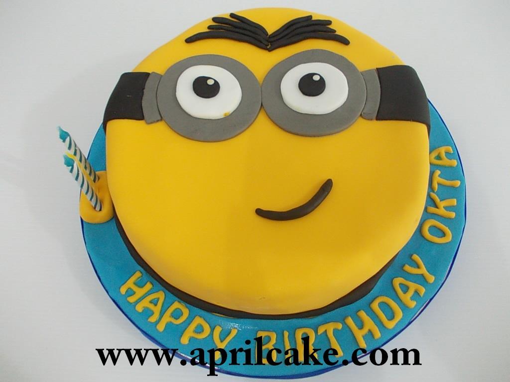 Minion cake Lia