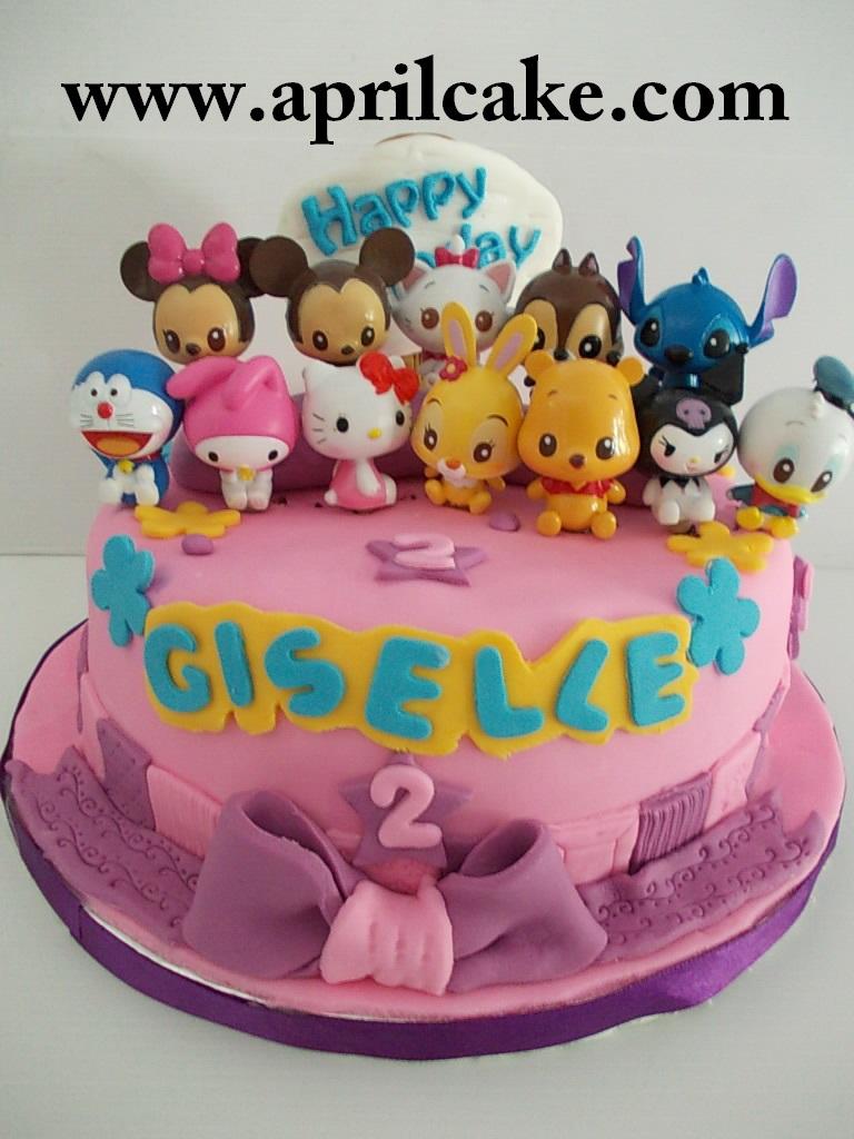 Sanrio cake Giselle