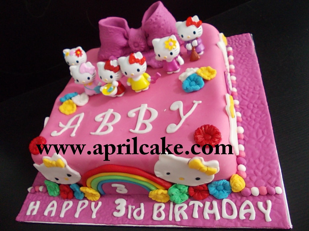 Hello Kitty Cake Abby