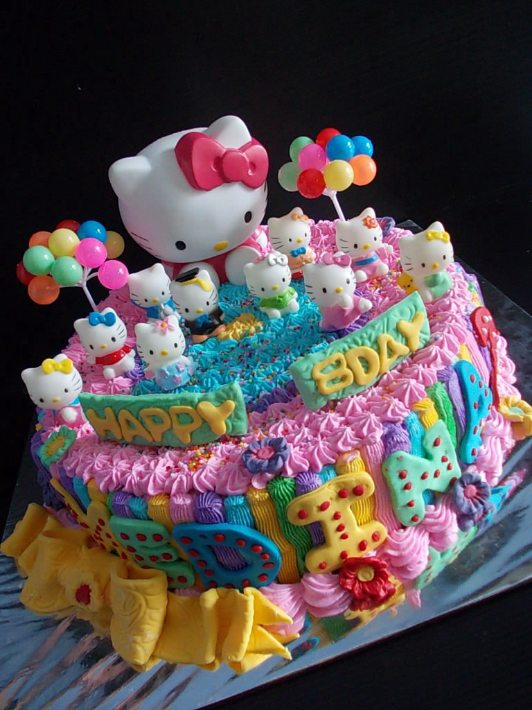 Hello Kitty Cake Buttercream Medina