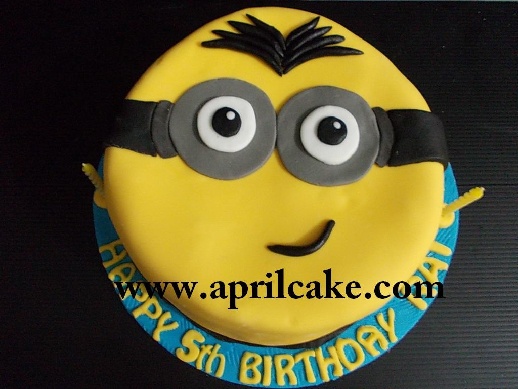 Minion Cake Rai