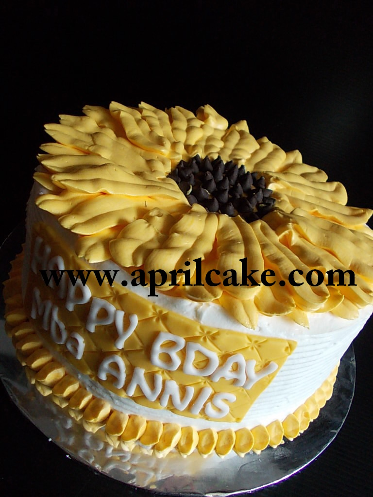 Sunflower Cake Annis