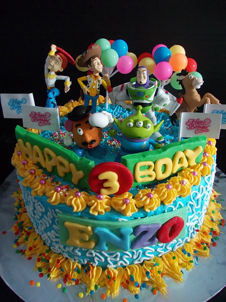 Toy Story cake Enzo