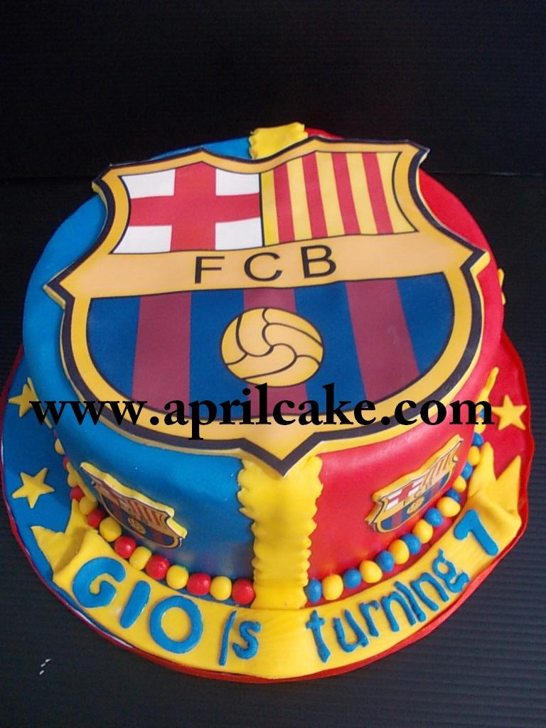 FCBarcelona cake Gio