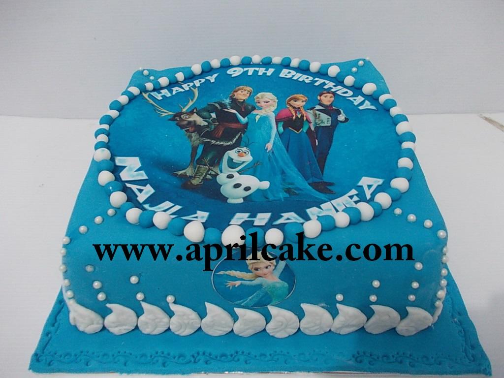 Frozen Cake Najla
