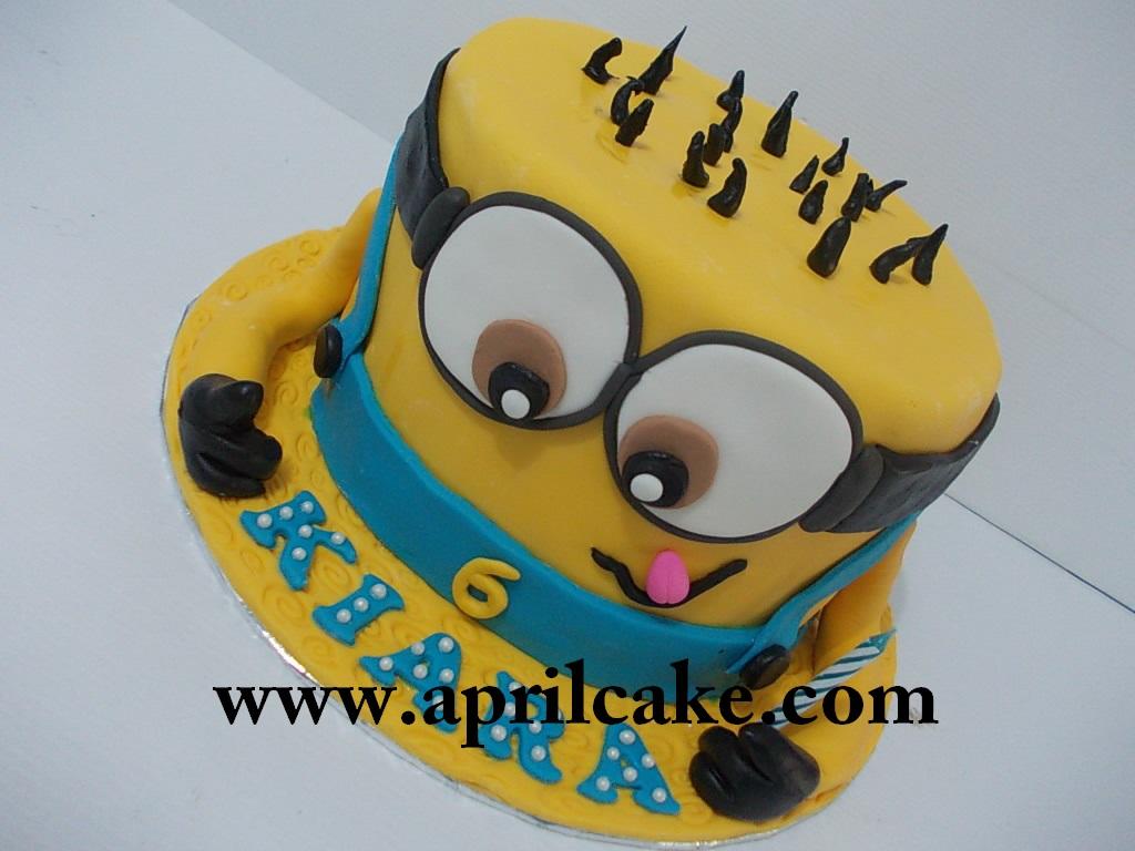 Minion cake Kiara