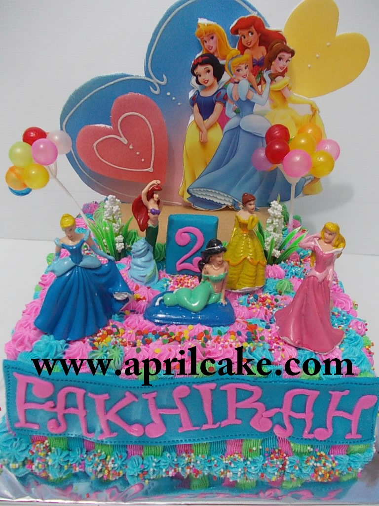 Princess buttercream Fakhirah
