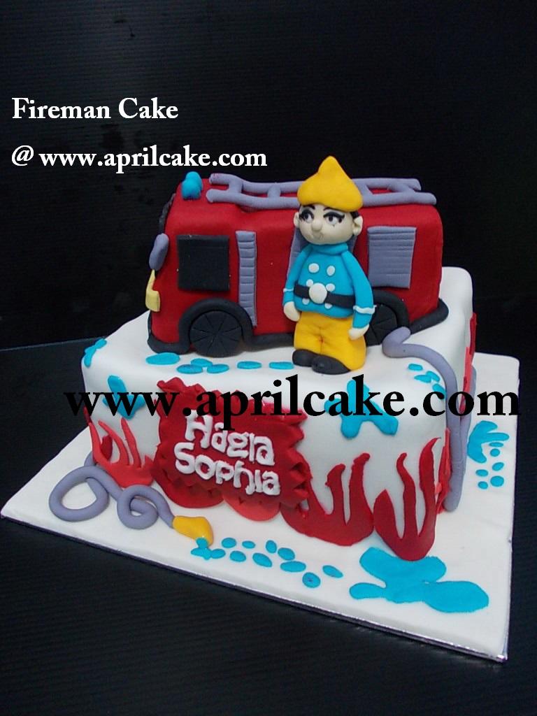 Fireman Cake Hagia