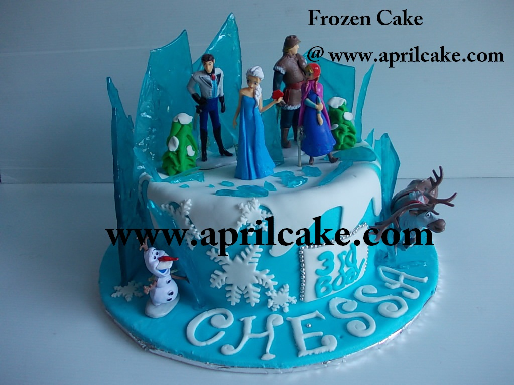 Frozen Cake Chessa