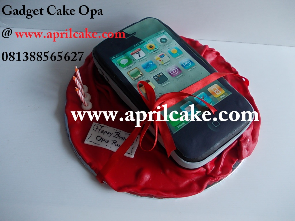 Gadget Cake Opa