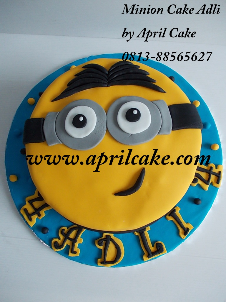 Minion Cake Adli