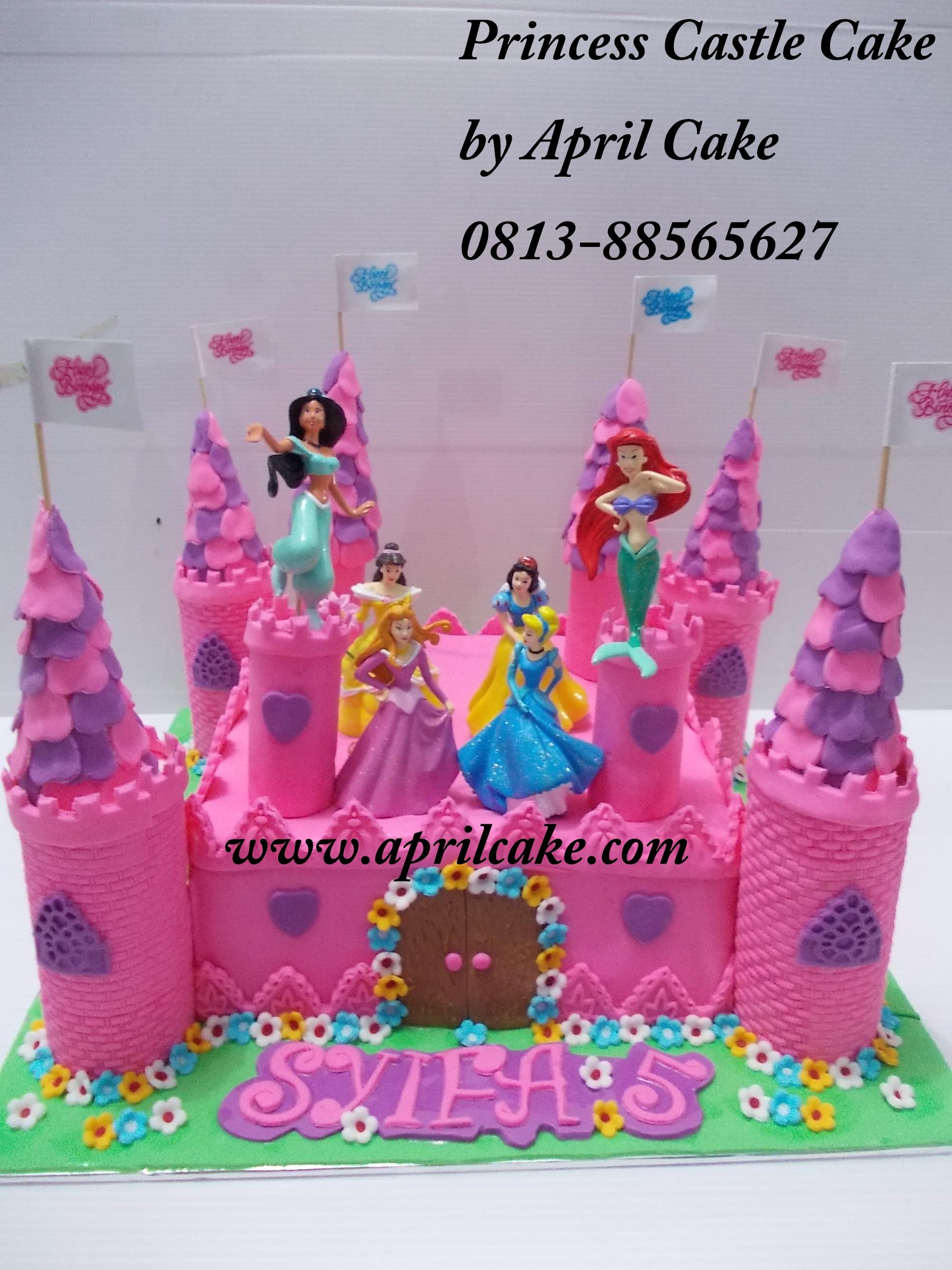 Castle cake Syifa