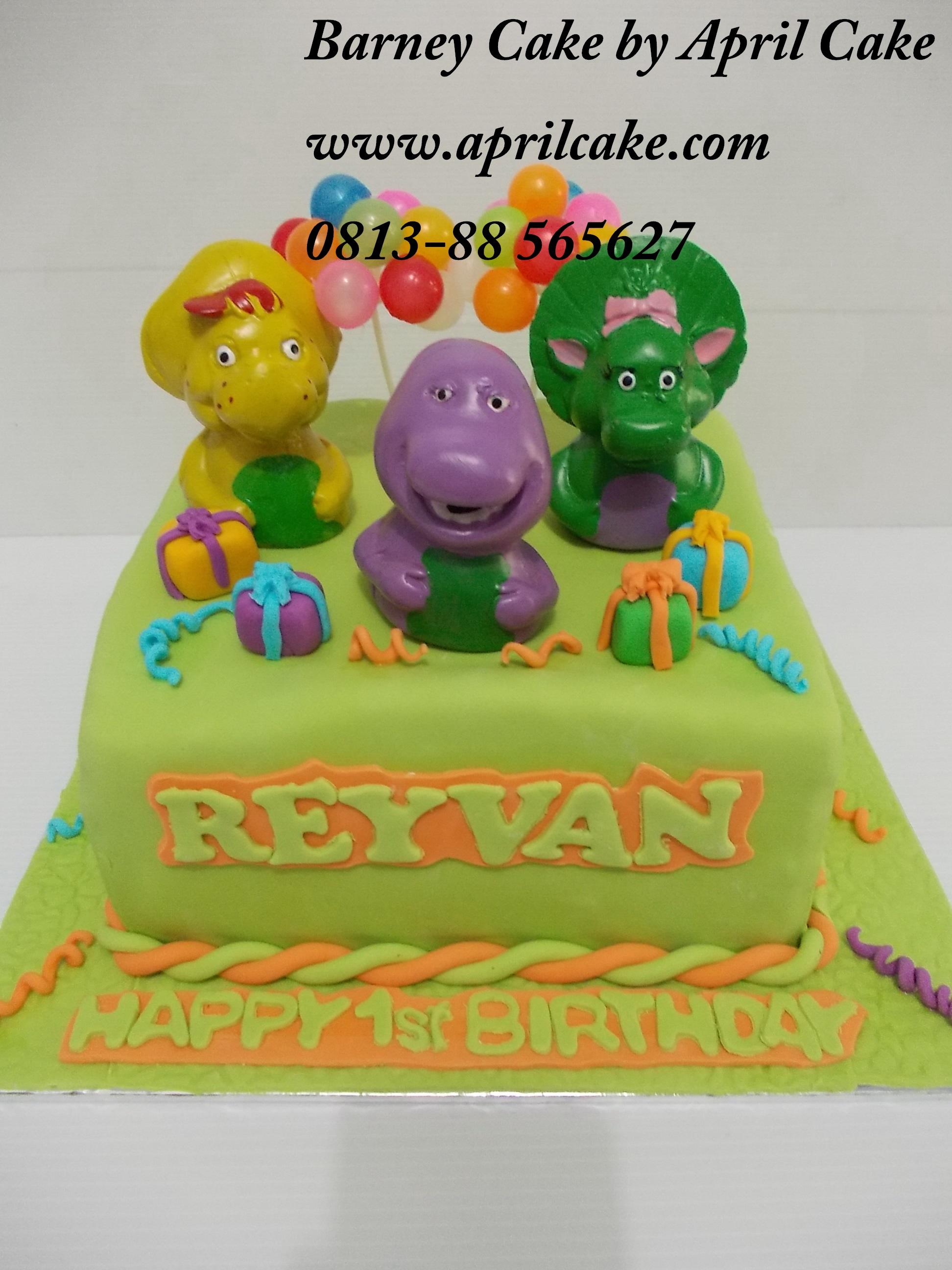 Barney Cake Reyvan