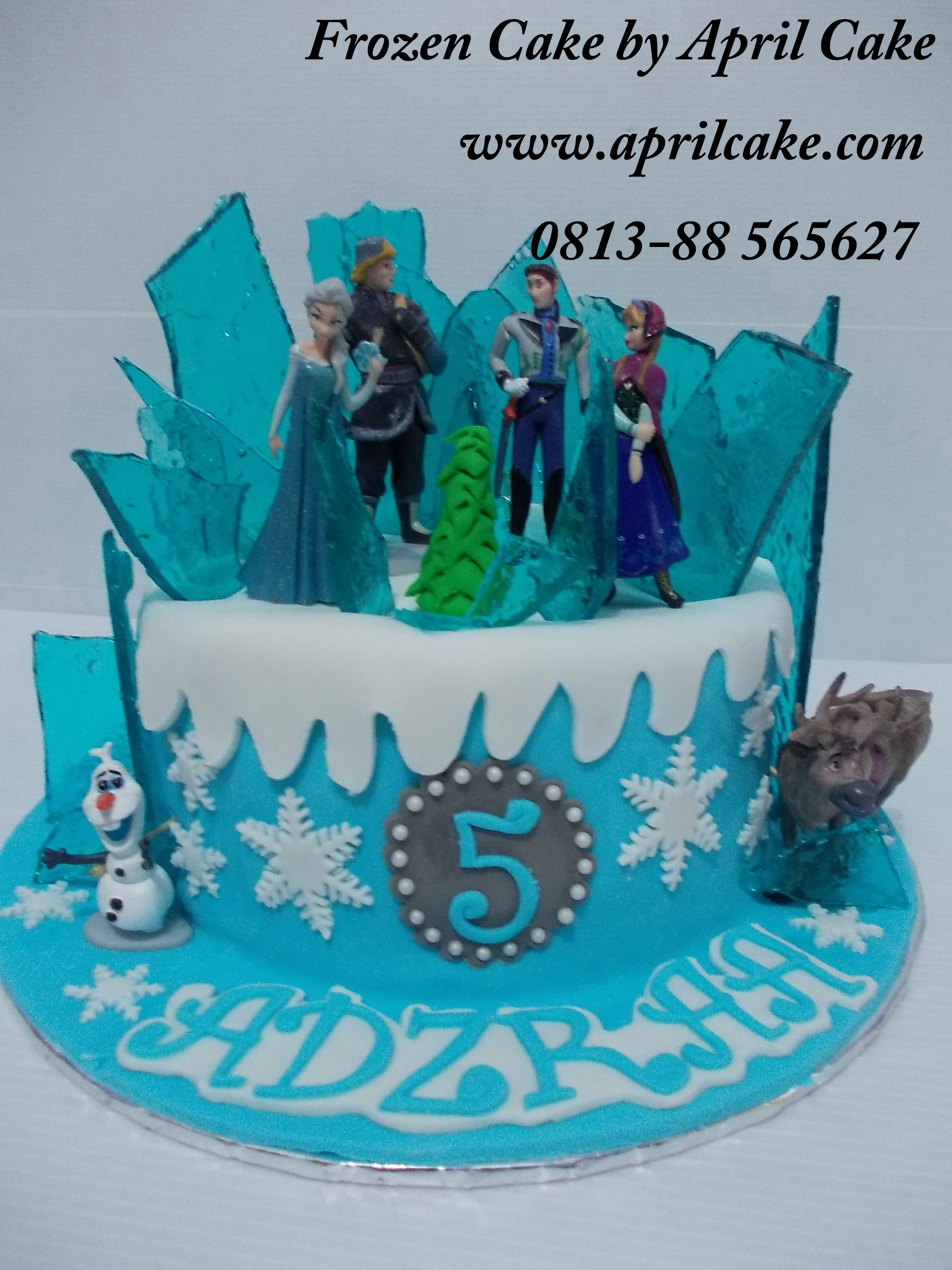 Frozen Disney April Cake