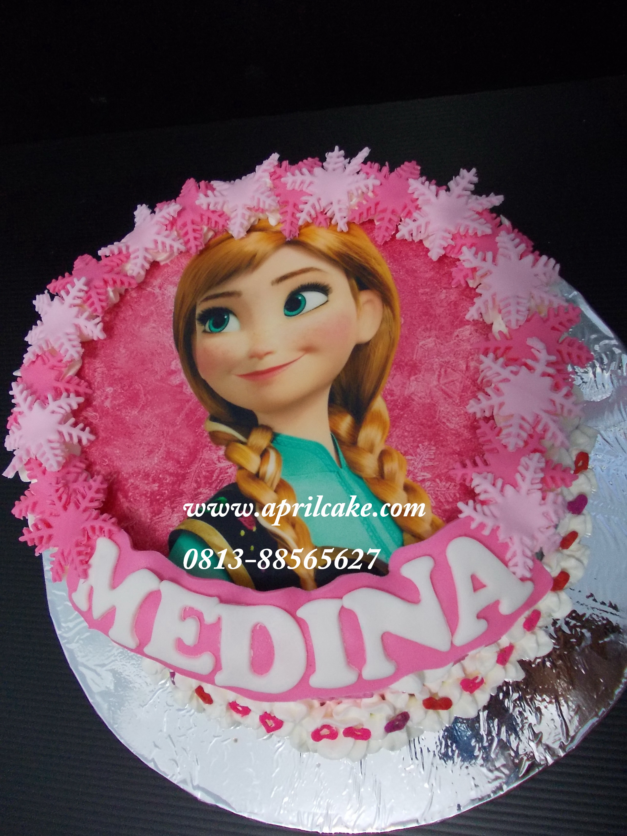 All About Frozen April Cake