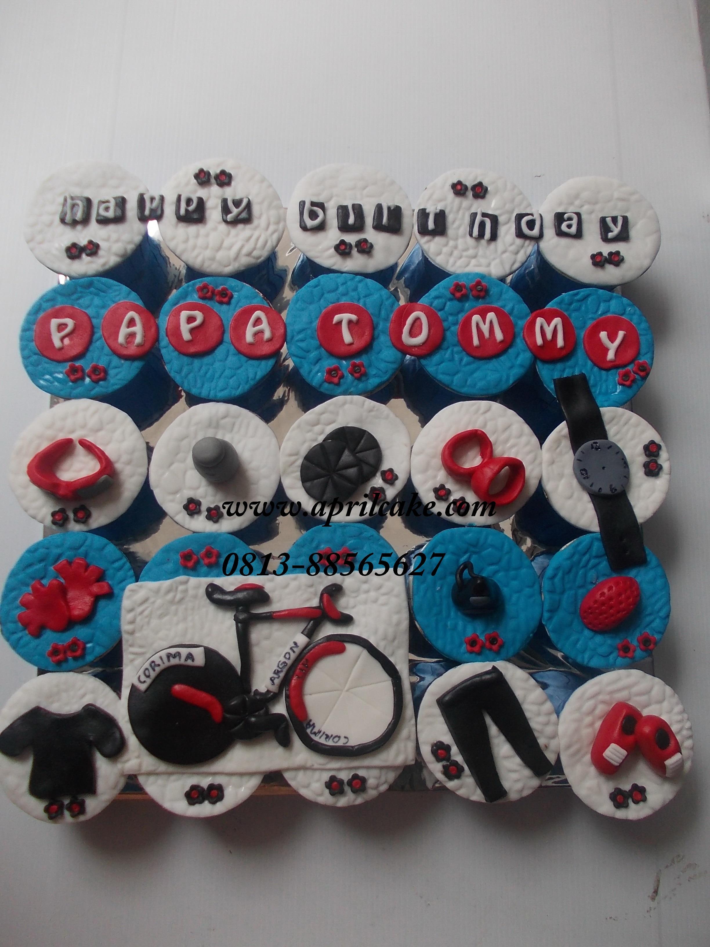 Cupcake Sepeda