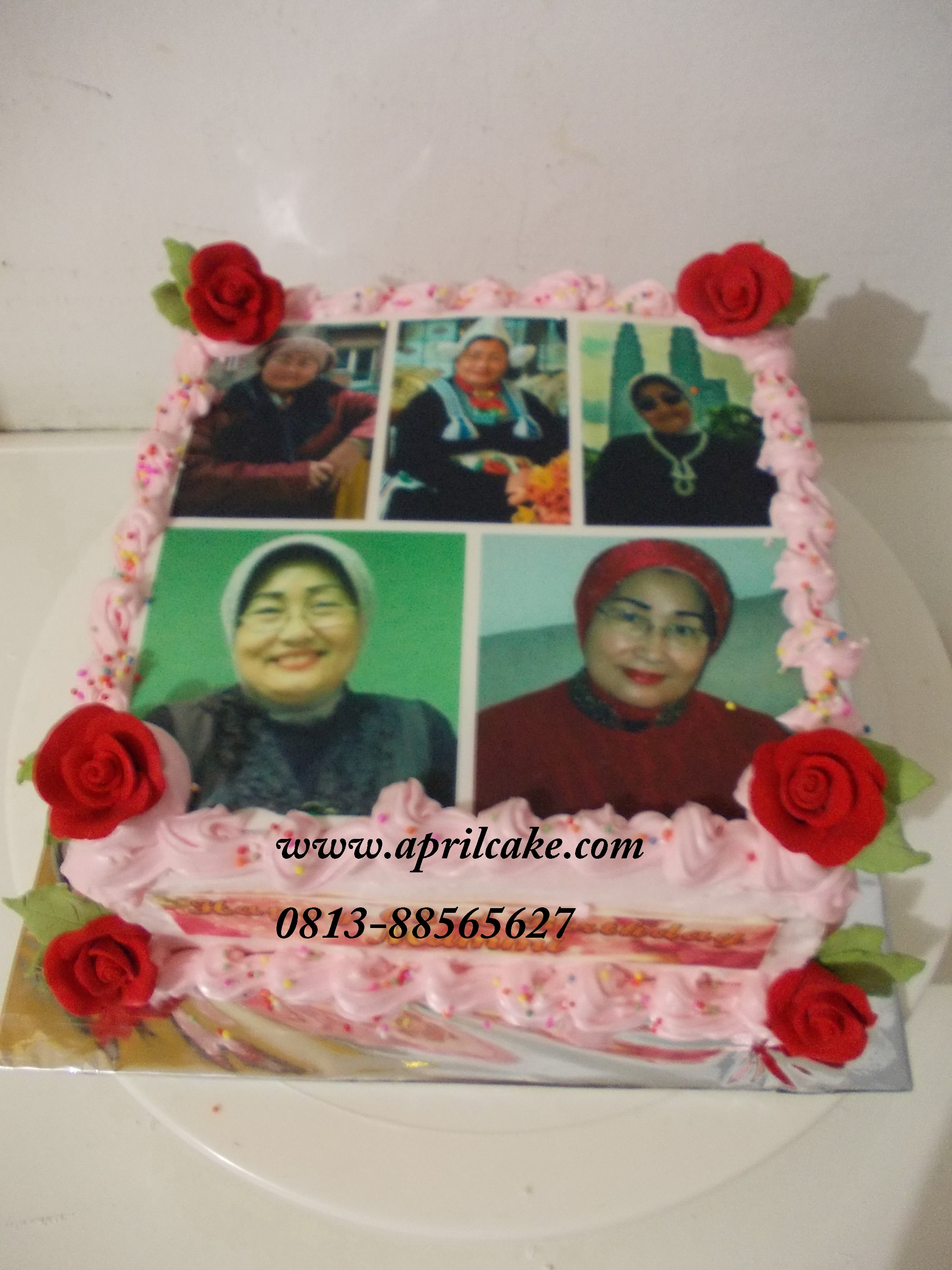 Edible photo Cake Shinta