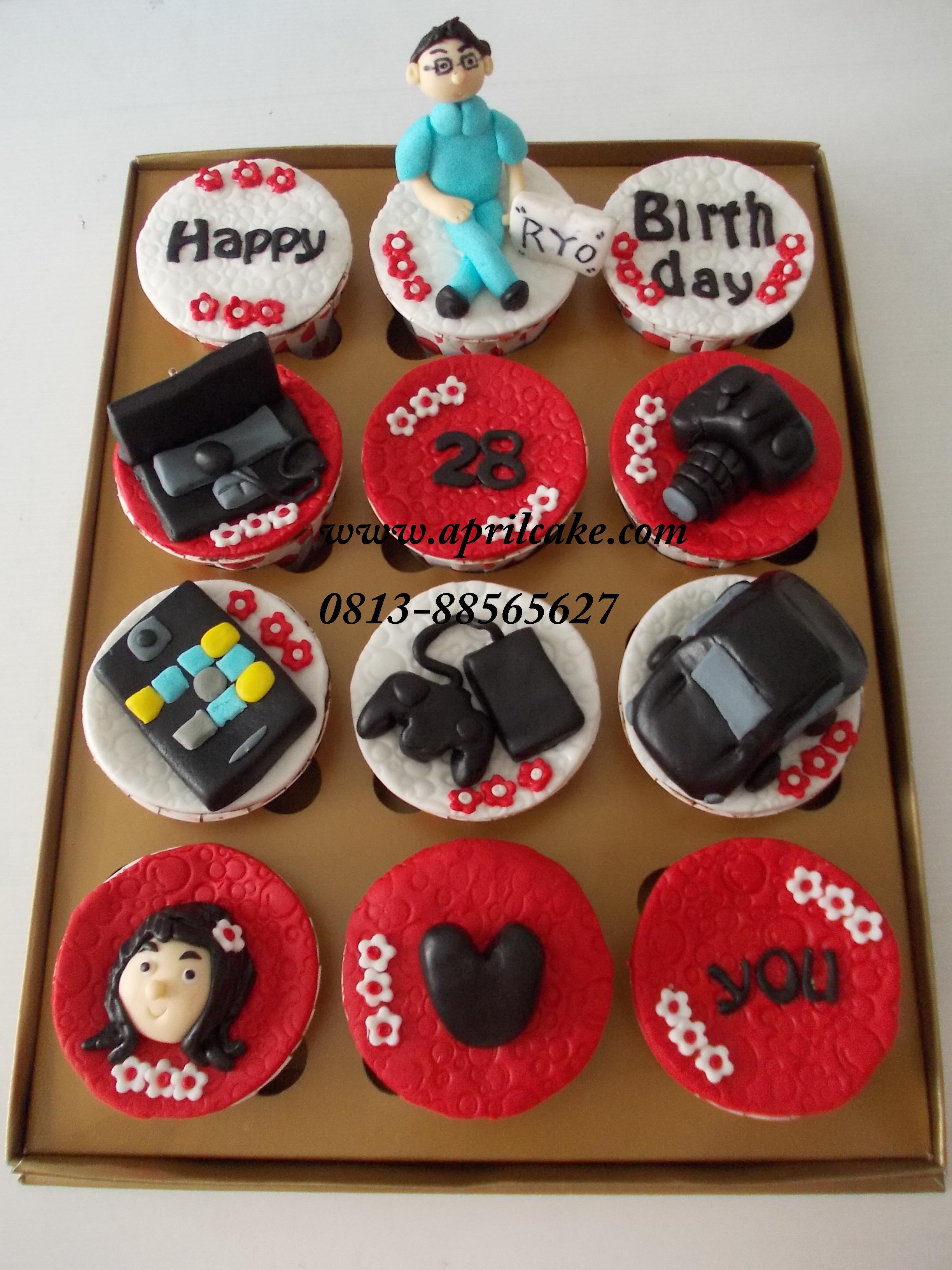 Gadget Cupcake Ryo