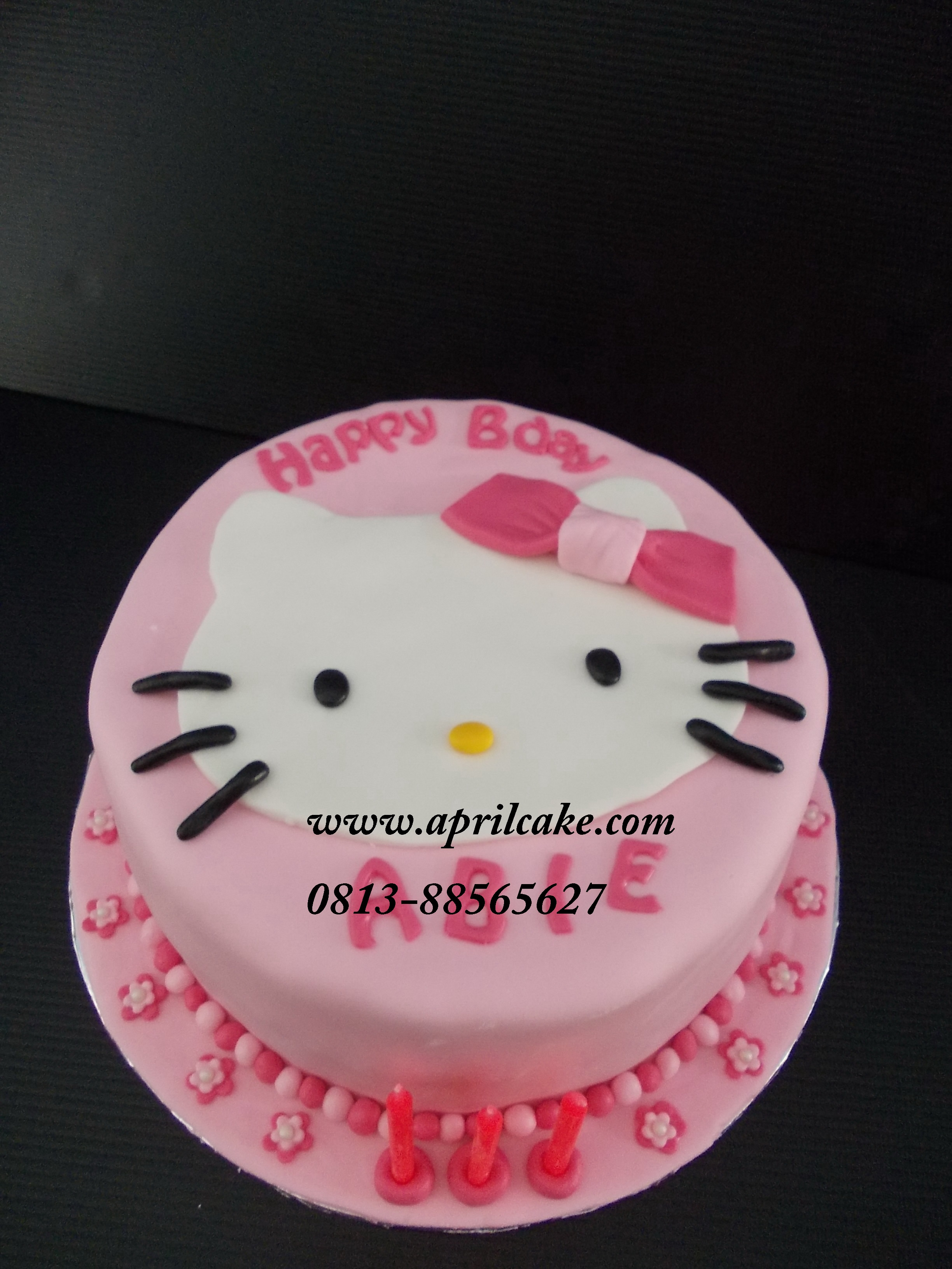 Hello Kitty Cake Abie