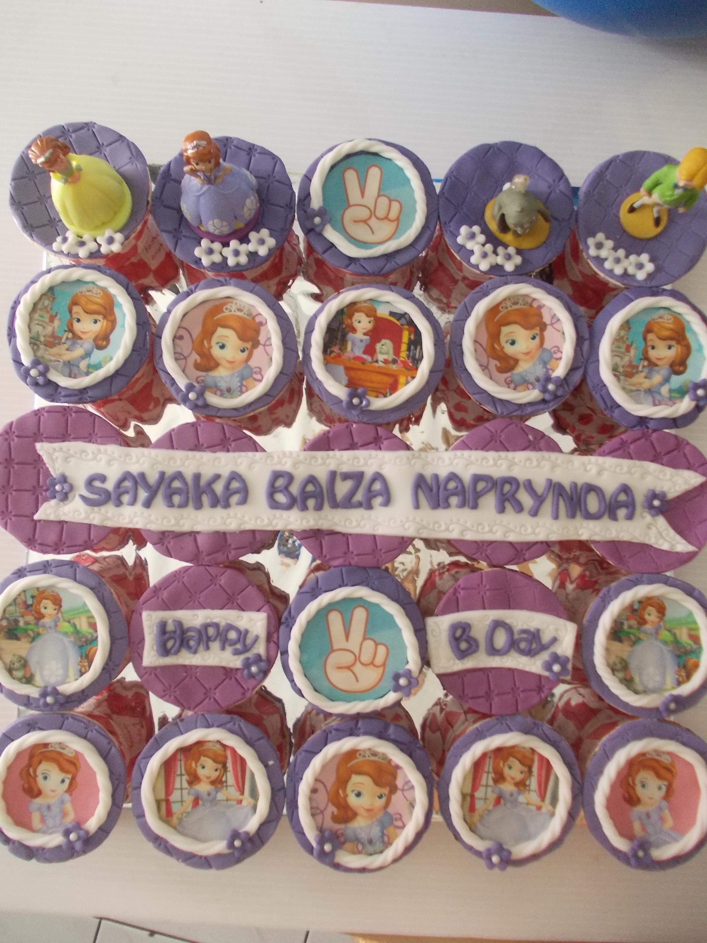 Cupcake Sofia the First Sayaka