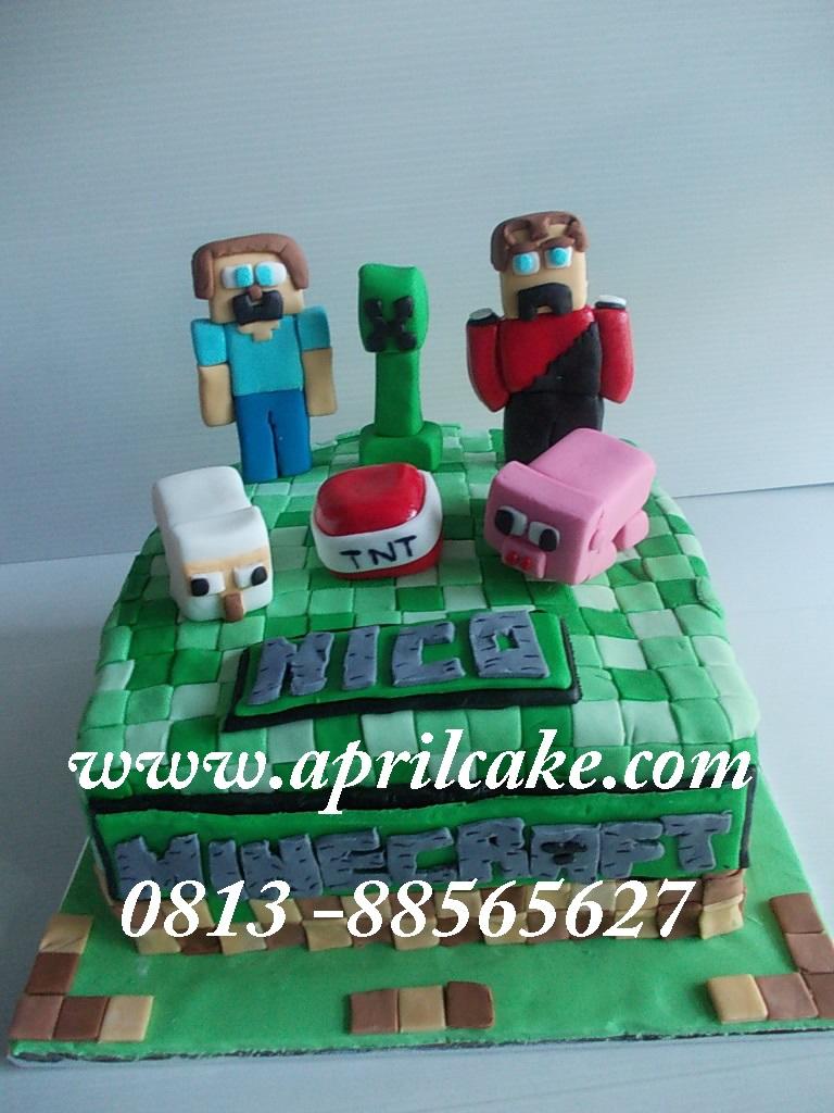 Minecraft Cake Nico