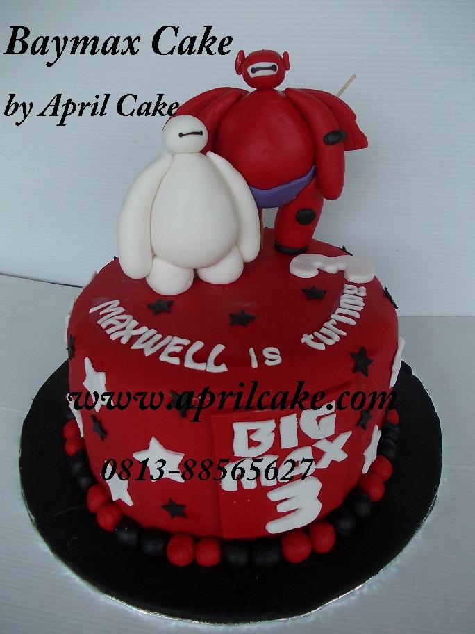 Baymax cake Maxwell