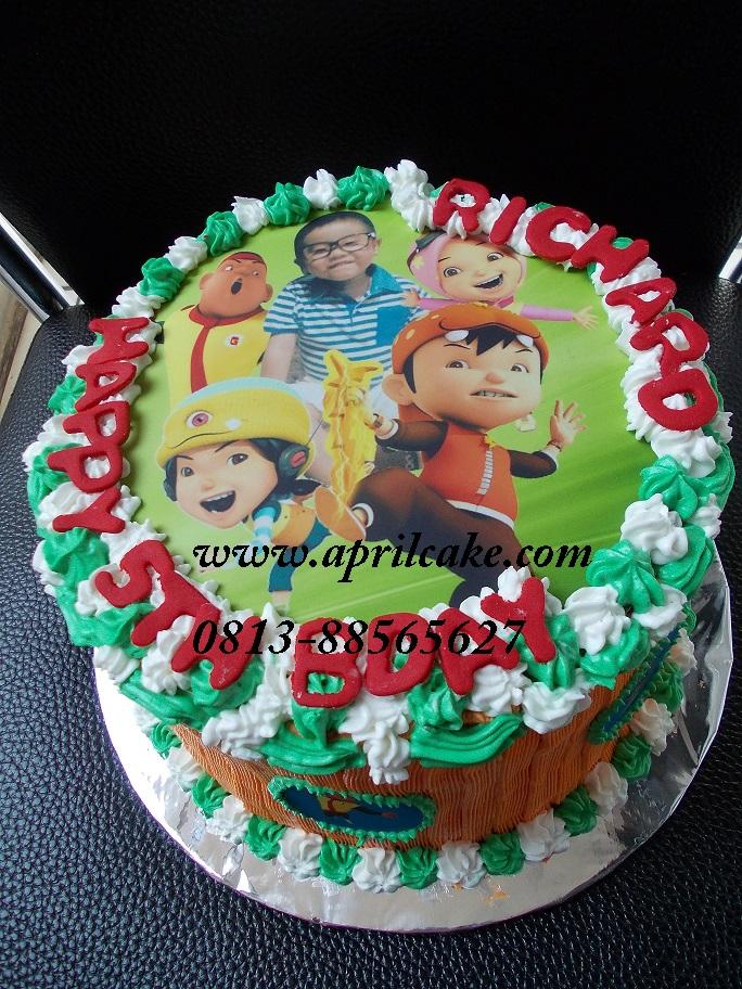 Boboy Cake Richard