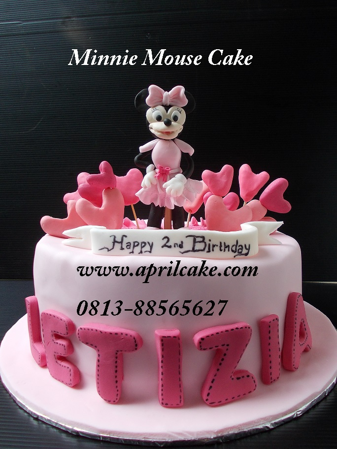 Minnie Mouse Cake Letizia