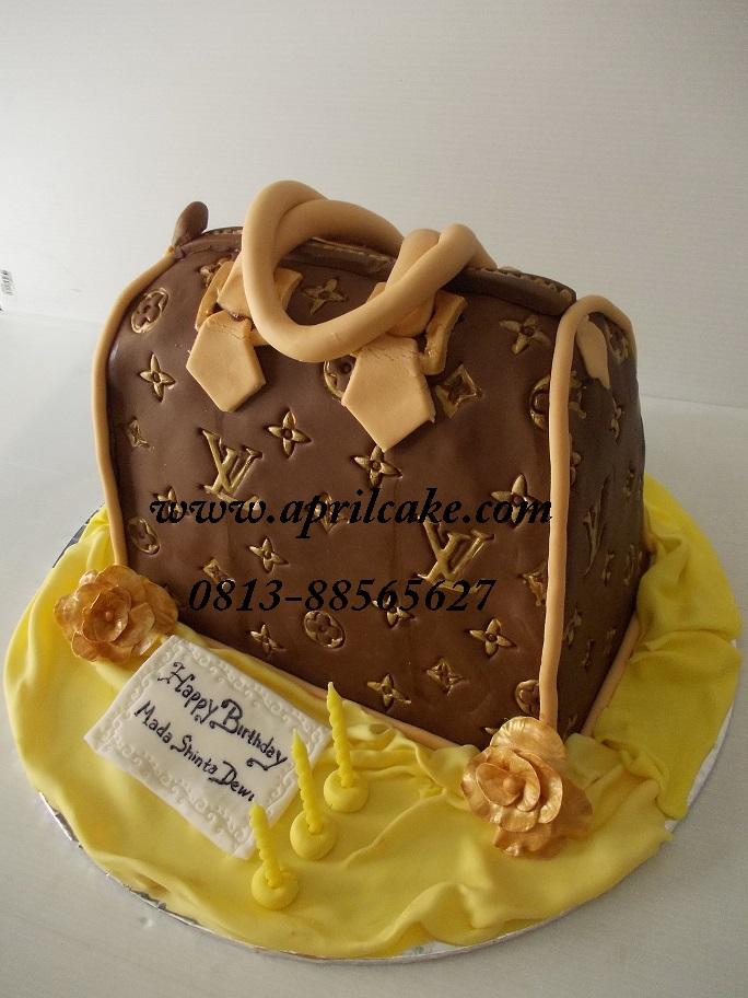 LV Bag Cake Mery
