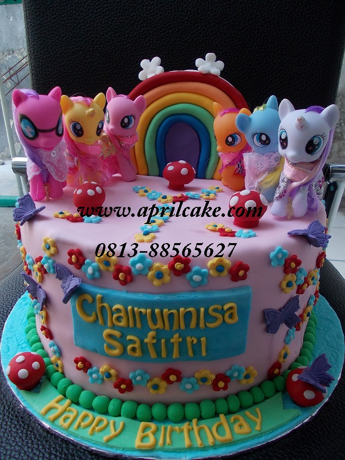 Little Pony Cake Chairunnisa