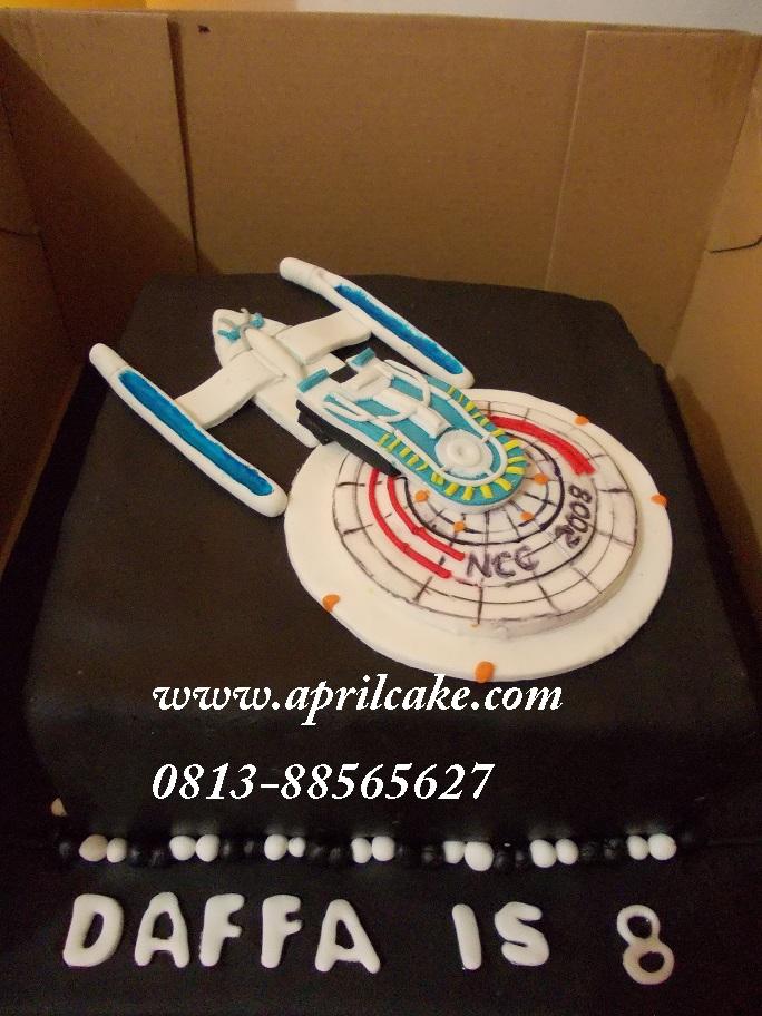 Startrek Cake Daffa