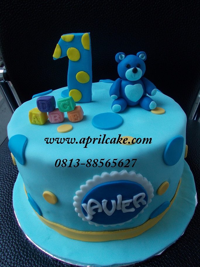 Teddy Bear Cake Javier