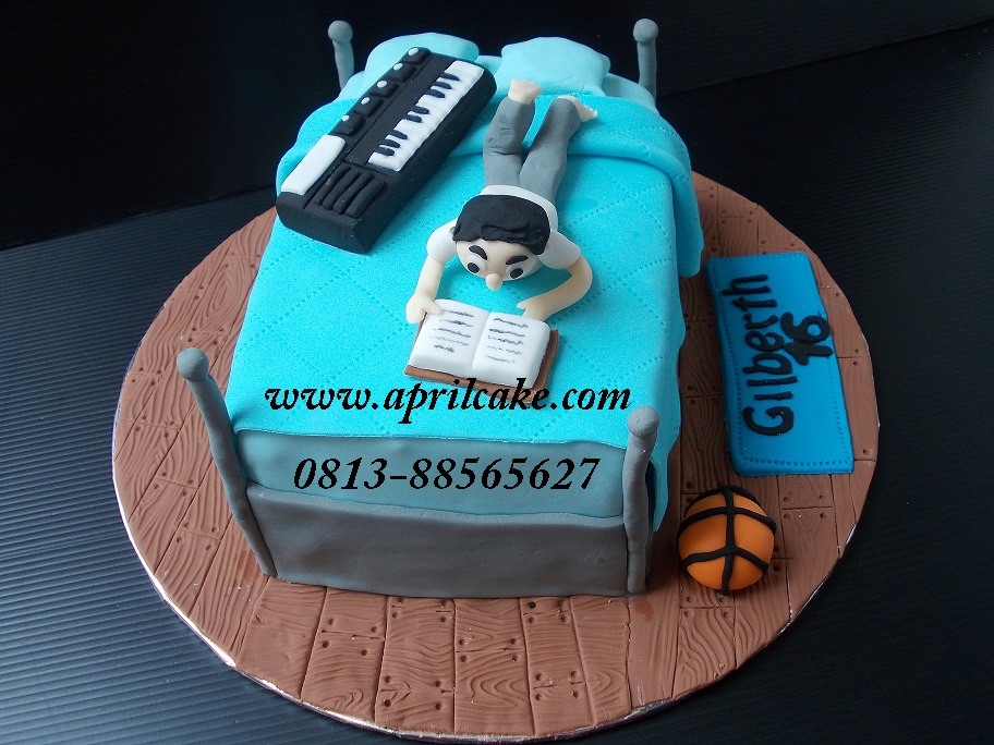 Bedroom cake Gilberth
