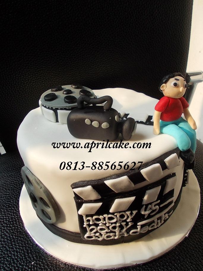 Camera cake Nada