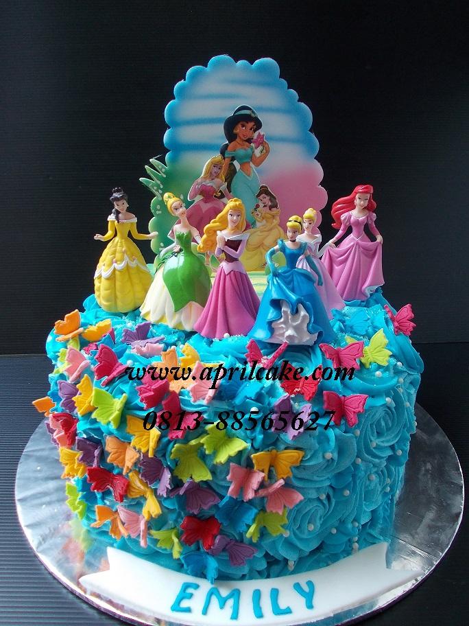 Princess buttercream Emily