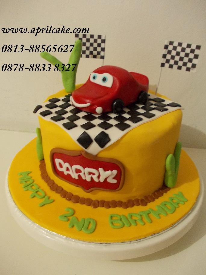 Cars cake Darryl