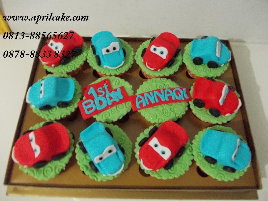 Cars cupcake Annaqi