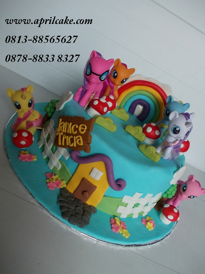 Little Pony Cake Janice