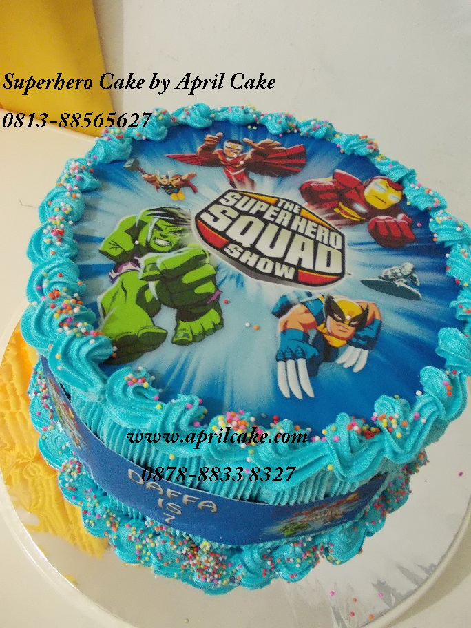 Superhero Cake Daffa