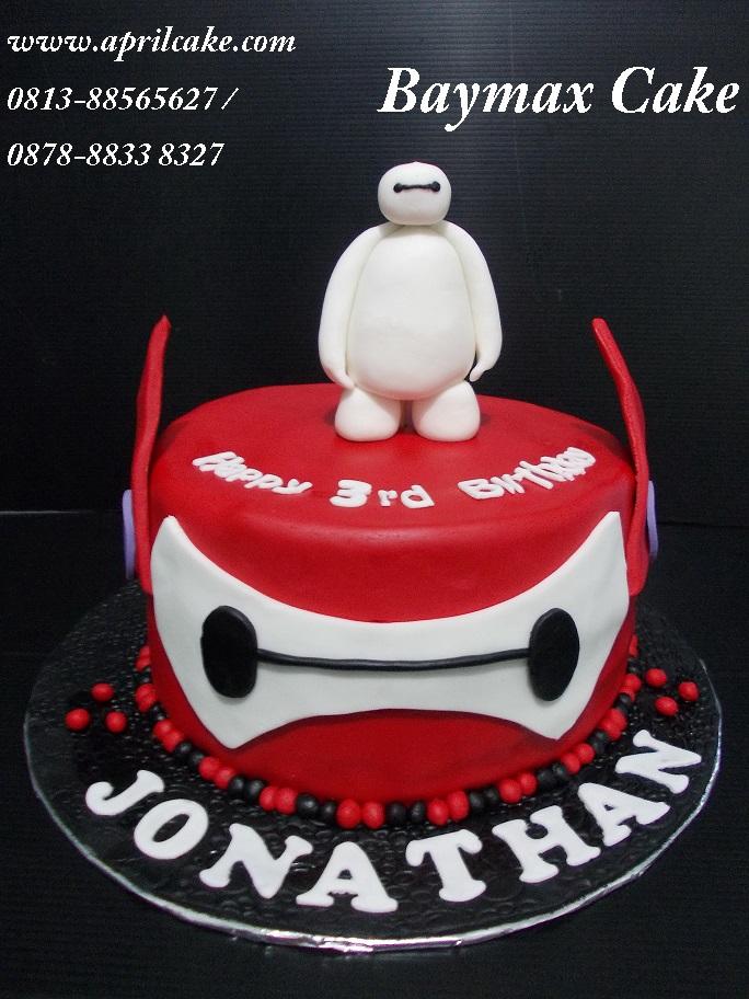 Baymax Cake Jonathan