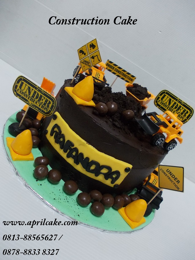 Construction Cake Rafandra